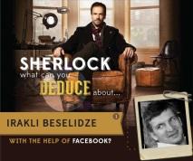 Sherlock Holmes investigates your Facebookprofile!